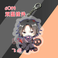 HUNTER X HUNTER Kurapika Irumi Hisoka Acrylic Keychain Keyring Strap 2-side Be