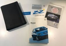 MAZDA 3 OWNERS PACK / HANDBOOK COMPLETE WITH WALLET 2003~2006