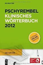 Pschyrembel Klinisches Wörterbuch (Pschyrembel Klinische... | Buch | Zustand gut