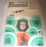 Filmplakat -   NARRENSCHIFF - HEINZ RÜHMANN-Progress, DDR