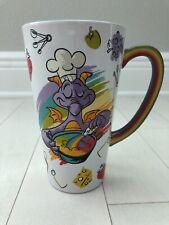 Epcot Food and Wine Festival 2020 Figment Ceramic Coffee Cup Mug Disney New