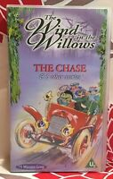 The Wind in the Willows The Chase & 5 other stories VHS Video Tape Children TBLO
