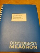 Cincinnati Milacron Programming Manual for Cinturn Series C, Model MA, Acramatic