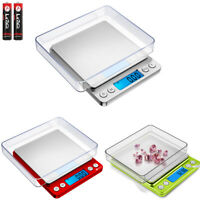 New 0.01/500g Digital LCD Electronic Balance Jewelry Food Weight Precision Scale