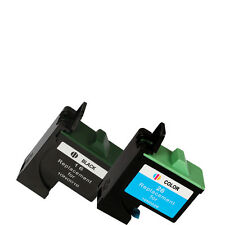 8pcs INK CARTRIDGE for LEXMARK 16 17 26 27 HIGH CAP PRINTER