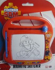 Fireman Sam Toy Magnetic Sketcher & Pen. Great for the car