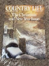 COUNTRY LIFE MAGAZINE THE CHRISTMAS AND NEW YEAR ISSUE DEC 18 2013 TO JAN 1 2014