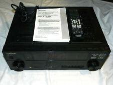 Pioneer VSX-820-K 5.1 Receiver HDMI 3D w/ Remote & Manual Bundle FREE SHIPPING