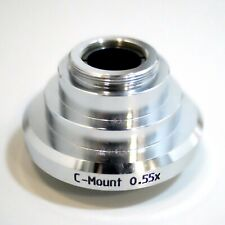 "Leica Microscopes C-mount Reducer 0.55x HC 1/2"" Sensor Digital Cameras"