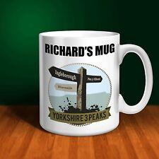 The Yorkshire Three Peaks Challenge Personalised Ceramic Mug