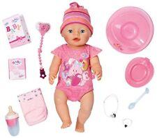 Zapf Creation Baby Born Interactive Doll UK POST FREE