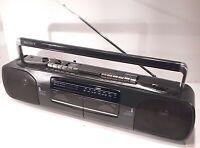Sony CFS-W303 Radio Cassette Boombox Dubbing Recorder Tape Player Vintage 1989