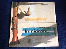 LE GROUPE X FRRRRRIGIDARE Rare 1973 Italy LP INSTRUMENTAL PROG Archive UNPLAYED