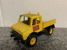 Britains Farm Models Autoway Mercedes Unimog Yellow Very Nice Never Played With