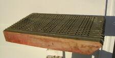 antique hudson & thurber corn seed grader sorter galvanized farm tool hunnicutt