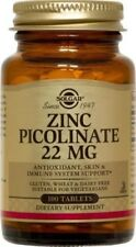 Zinc Picolinate 22mg Solgar 100 Tabs