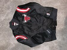 Mitchell And Ness /Chicago Bulls/Vintage/Satin Varsity Jacket