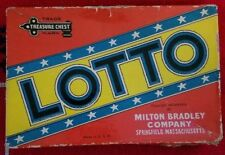Vintage 1936 Milton Bradley LOTTO Game