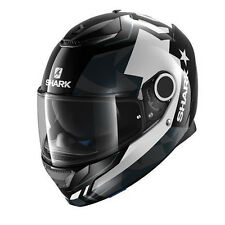Shark Casque Moto Full Face Spartan Droze He5038ekwa-xl