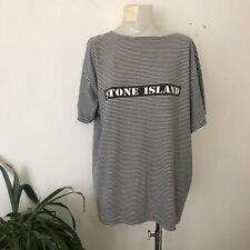 Stone Island Vintage Stripped T-shirt, Size XL, No Main Label