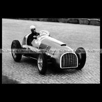 #pha.014929 Photo FERRARI 166 F2 JUAN MANUEL FANGIO GP GRAND PRIX MONZA 1949 Car