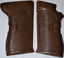 CZ 52 pistol grips dark brown plastic