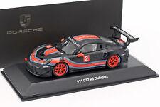 Porsche 911 (991 II) GT2 RS Clubsport #2 schwarz / rot / blau 1:43 Spark