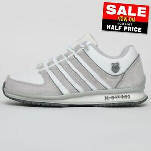 K Swiss Rinzler Limited Edition Men's Classic Retro Smart Fashion Trainers White