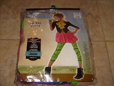 The Mad Hatter Halloween Costumes Girls Teens Size 7-9 Fancy Dress NEW