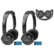 Pair Of Wireless Infrared Headphones For Honda + Acura Rear Entertainment