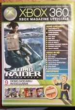 DEMO TOMB RAIDER UNDERWORLD XBOX 360 MAGAZINE UFFICIALE NR. 90 OTTIME CONDIZIONI