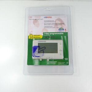 NEW RiteTemp Thermostat Model 8030C 7-Day Programmable With Touch Screen