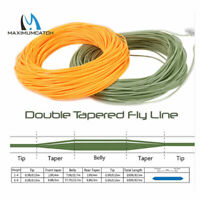 Maxcatch DT2F/3F/4F/5F/6F/7F/8F Double Taper Floating Fly Fishing Line