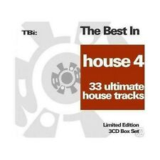 The Best In House 4 (Limited Edition) - 3 CDs NEU Roger Sanchez Stonebridge