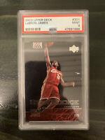 2003 LeBron James RC Upper Deck #301 Star Rookie PSA 9 MINT Lakers