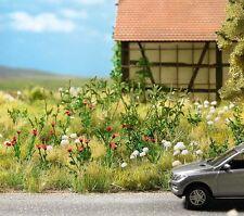 OO/HO 72 COQUELICOT & 24 Millefeuille plantes pour Paysage / jardin Busch 1263