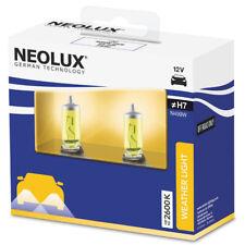 Neolux H7 car bulb 2600K Yellow light 55W 12V PX26D N499W-2SCB 2 bulbs