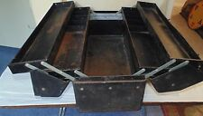 Vintage WALTON Products Grip Loc -  TACKLE  & TOOL BOX - metal