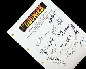 The Goonies Film Movie Script Screenplay Reprint Steven Spielberg Josh Brolin