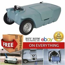 RV Septic Tank Cleaning Waste Camper Trailer Sewer Travel Drainage Plumber 15Gal