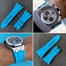 Riviera Blue rubber strap for 42mm Audemars Piguet Royal Oak Offshore & Diver