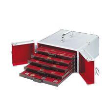 CARGO MB maletín aluminio ,para 5 bandejas de mondas ( no incluidas)