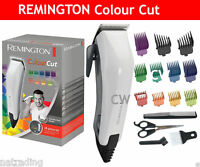 Remington Colour Cut Corded Hair Clipper Trimmer Grooming Kit Set HC5035