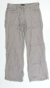 NEXT Womens Grey   Trousers  Size 12 L30 in