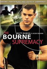 THE BOURNE SUPREMACY FULL SCREEN DVD MOVIE MATT DAMON FRANKA POTENTE FREE SHIP