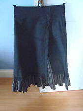 ladies skirt size 10 by Nothing Else.  Navy Blue Cotton/polyamid