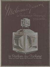 """""""MOLINARD JEUNE"""" Affiche originale entoilée Litho années 20      33x43cm"""