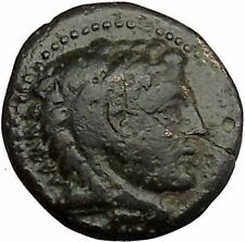Alexander III the Great as Hercules 336BC Ancient Greek Coin Bow Club i39309