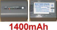 Batterie 1400mAh type NP-FP60 NP-FP70 NP-FP71 Pour Sony DCR-DVD105