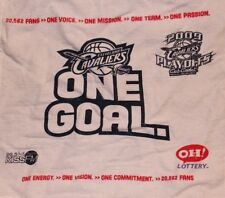 NBA CLEVELAND CAVS BASKETBALL 09 PLAYOFF RALLY TOWEL ARENA PROMO LOTTERY VARIANT